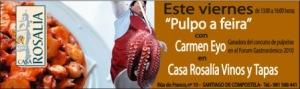 Pulpeira Casa Rosalia Vinos y Tapas
